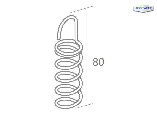 Upphängning frihängande undertak, Baffelkrok, Solo Baffle, Ecophon Connect