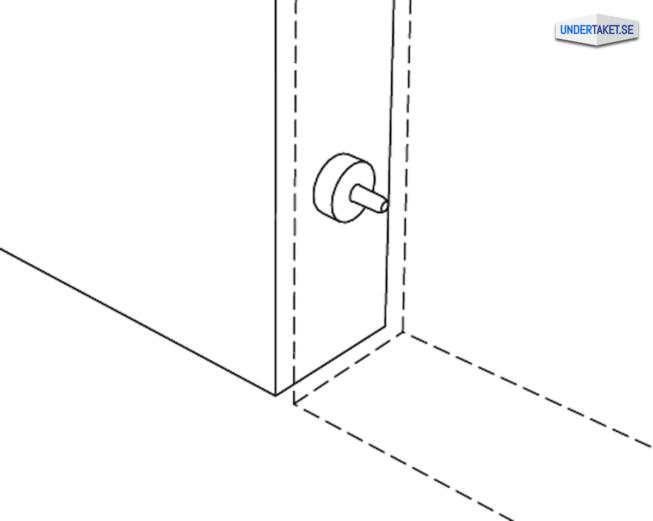 Upphängning frihängande undertak, Styrstift, Solo Baffle, Ecophon Connect