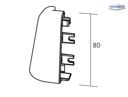 Bärverk, Avslutningslist, Tillbehör, Edge 500 Hörn, Edge 500 Profil, Ecophon Connect