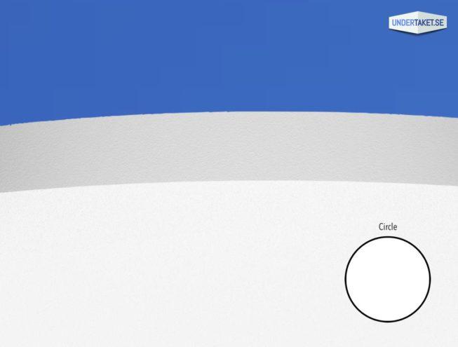 Väggabsorbent Solo Circle Wall. Ljudabsorbent från Ecophon. Köp online hos Undertaket.se.