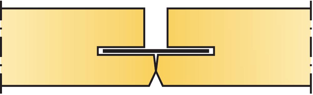 Undertaket.se, Akustikskivors olika kantutformningar, Kantutformning C, Ecophon, Akustikskivor, Undertaksplattor, Köp billigt online